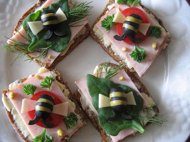 Sumuštiniai su bitėmis - bulviukose.lt