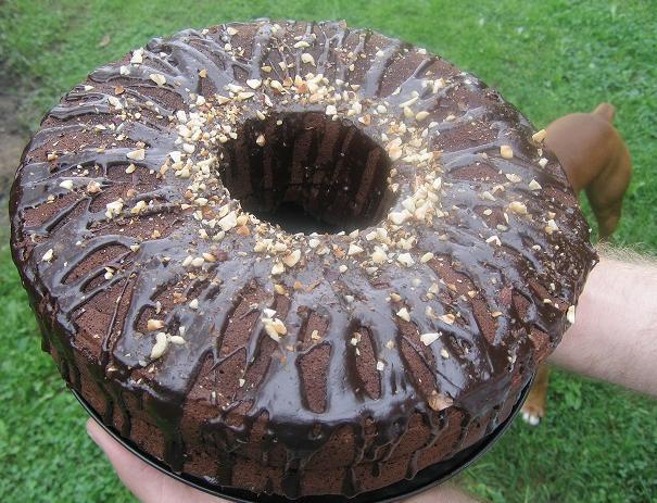 Šokoladinis cukinijų pyragas - bulviukose.lt