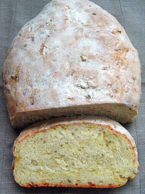Duona su cukinija ir sūriu - bulviukose.lt