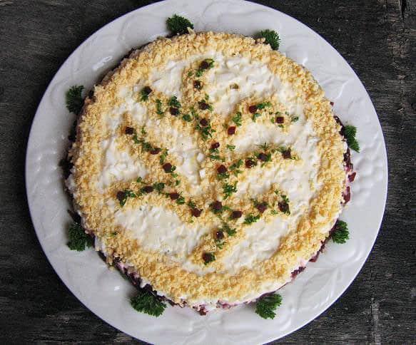 Silkės tortas - bulviukose.lt