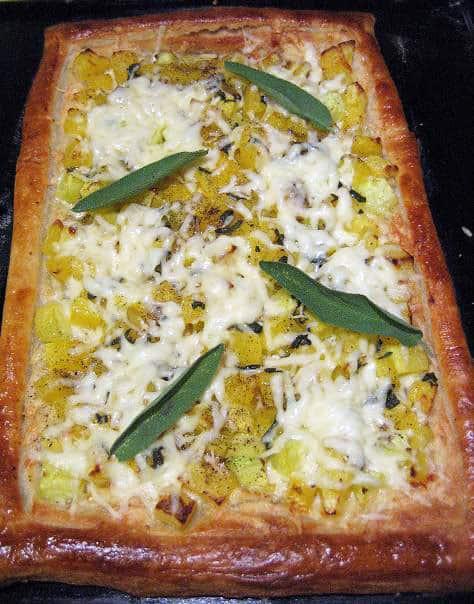 Moliūgų ir sūrio pyragas - bulviukose.lt