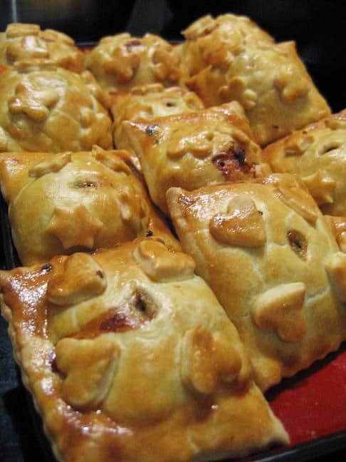 Pyragėliai su įvairiais įdarais - bulviukose.lt
