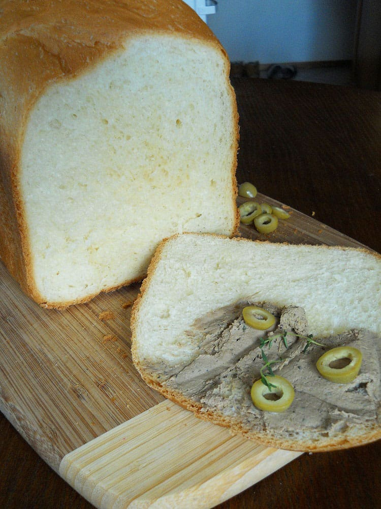 Grietininė duona - bulviukose.lt