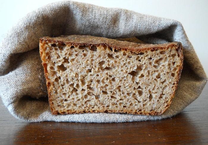 Duona su kvietiniu raugu - bulviukose.lt