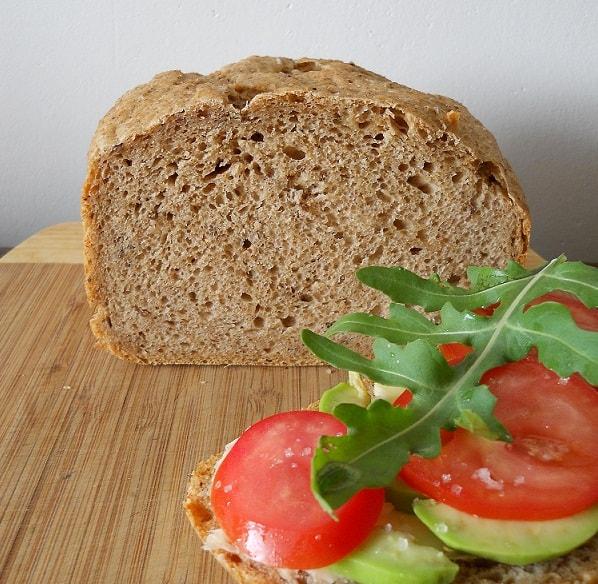 Plikyta ruginė duona - bulviukose.lt