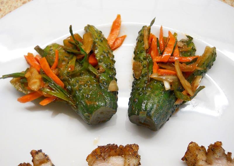 Agurkų kimči (kimchi) - bulviukose.lt