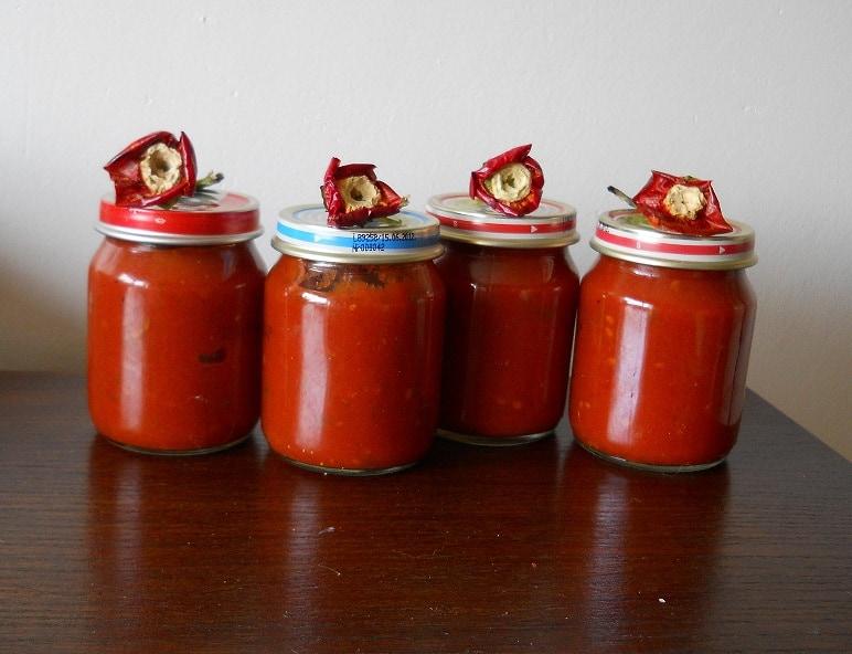 Aštrus pomidorų padažas - bulviukose.lt