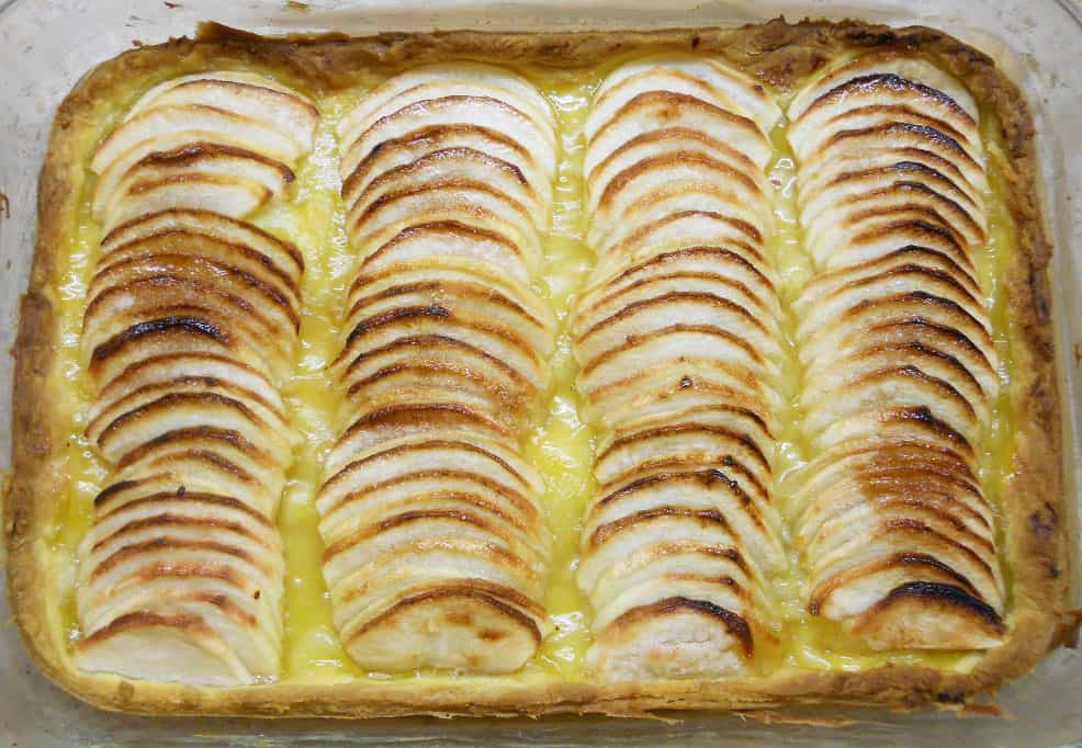 Obuolių pyragas - bulviukose.lt