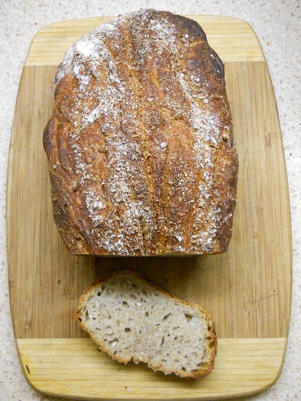 Tinginių duona arba duona, kurios nereikia minkyti - bulviukose.lt