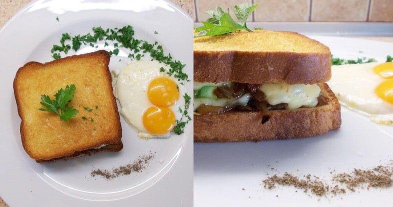 Karšti sumuštiniai su šoninės džemu ir avokadu - bulviukose.lt