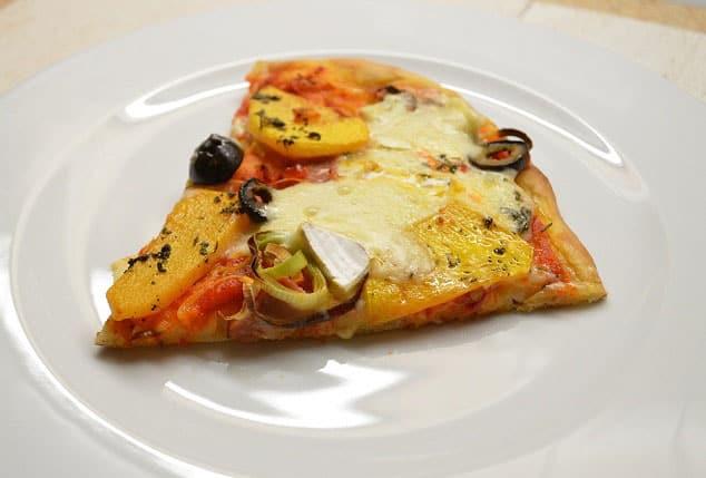 Pica su moliūgais ir Brie sūriu. Moliūgų sezonui - bulviukose.lt