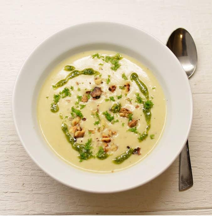 Trinta topinambų sriuba. Vitaminų šaltinis - bulviukose.lt