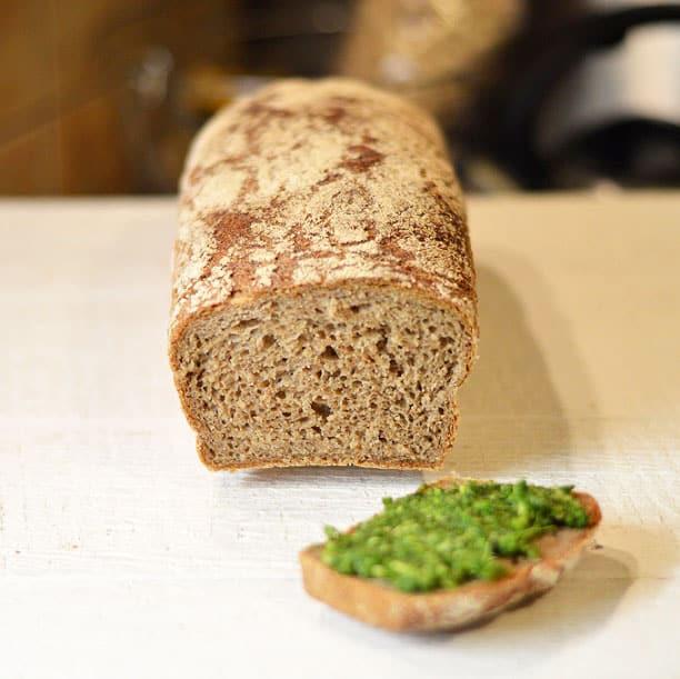 Trijų rūšių miltų duona - bulviukose.lt