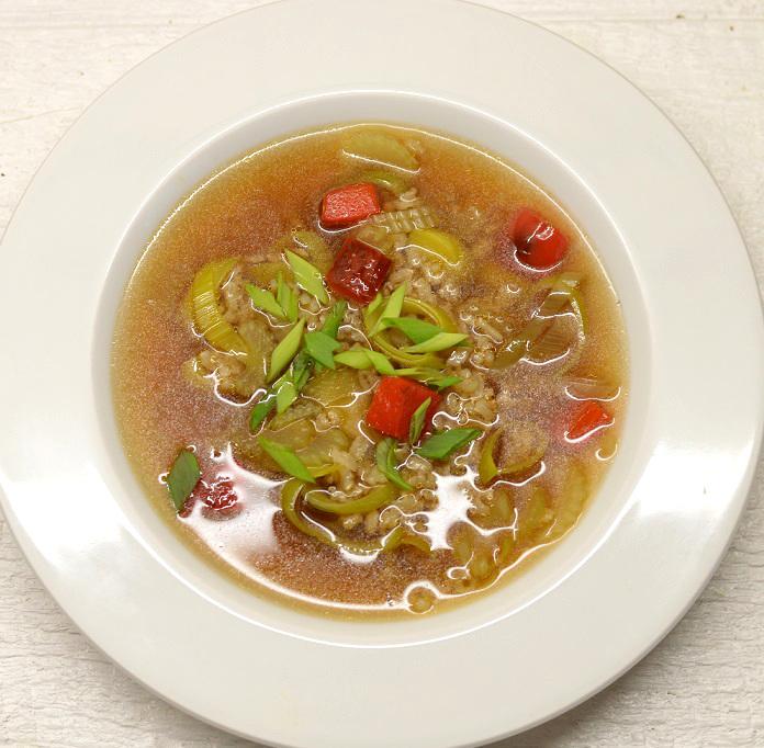 Antienos sriuba su ryžiais ir daržovėmis - bulviukose.lt