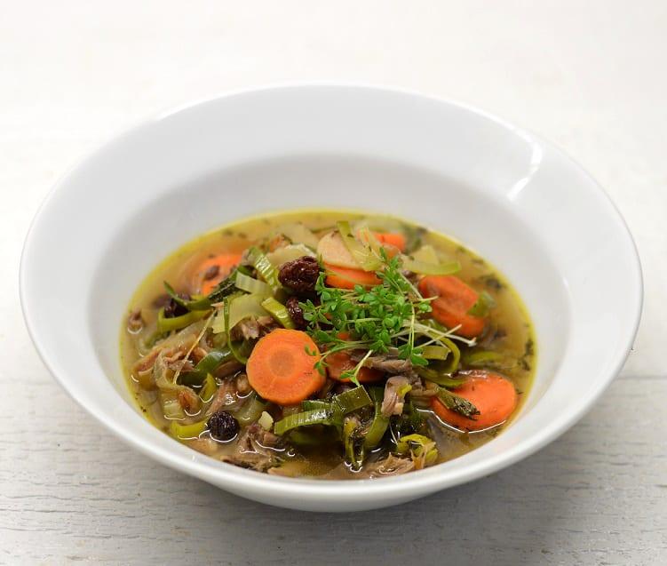 Tiršta ančiukų kakliukų sriuba - bulviukose.lt