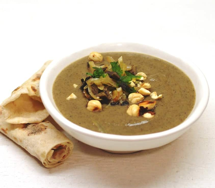 Trinta pastarnokų sriuba su džiovintais grybais - bulviukose.lt