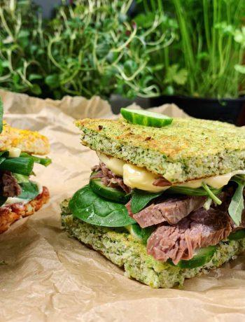 Brokolių, morkų ir burokėlių duonelės (be glitimo) - bulviukose.lt