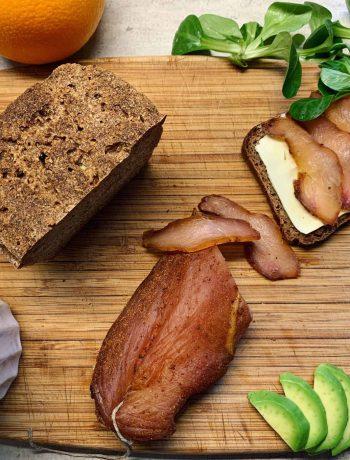 Vytinta vištos krūtinėlė - bulviukose.lt