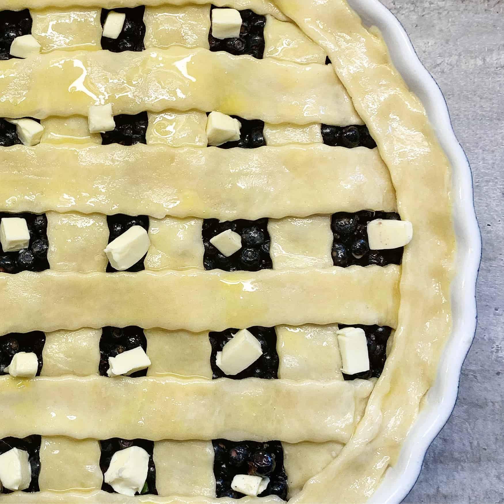 Pyragas su mėlynėmis - bulviukose.lt