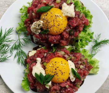 Daniškas sumuštinis - Smørrebrød - bulviukose.lt