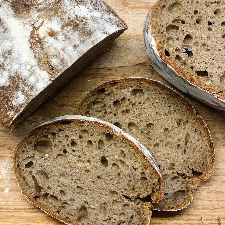Duona su džiovintais grybais - bulviukose.lt