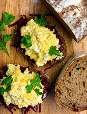 Raugo duona su grybais - bulviukose.lt
