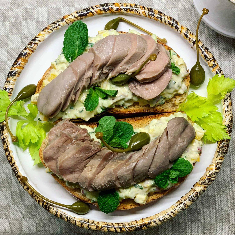 Ėrienos liežuvių receptas - bulviukose.lt