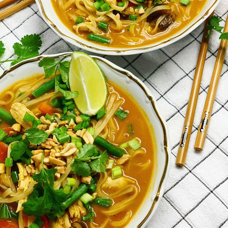 Tailandietiškos sriubos receptas - bulviukose.lt