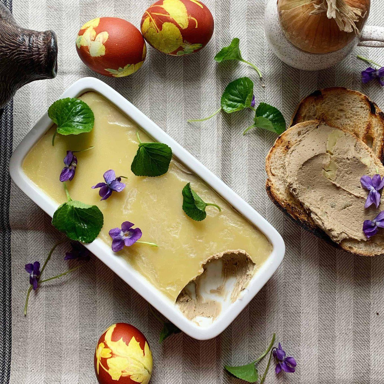 Jautienos kepenų paštetas su Marsala - bulviukose.lt