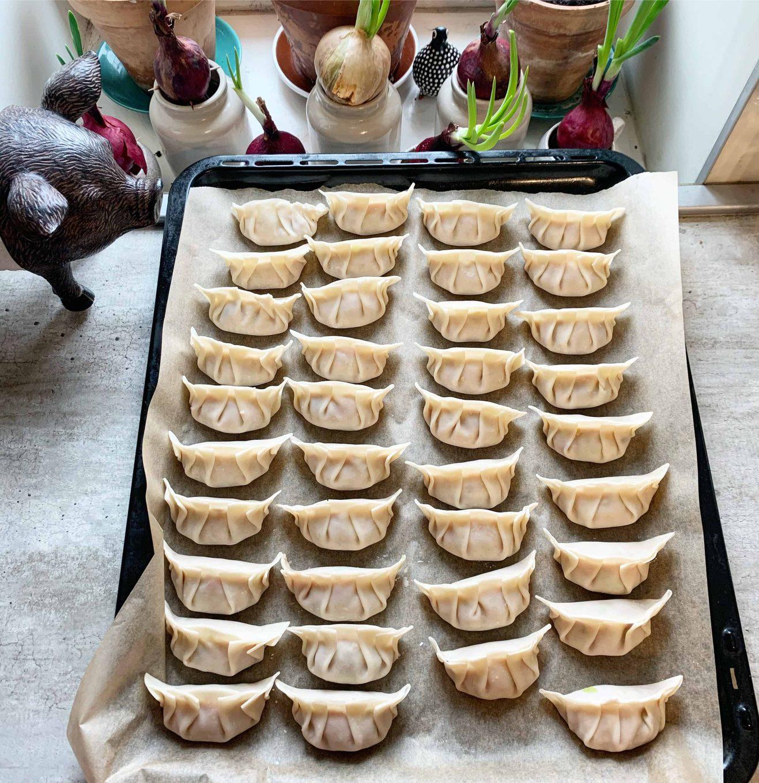 Korėjietiški koldūnai Mandu - bulviukose.lt