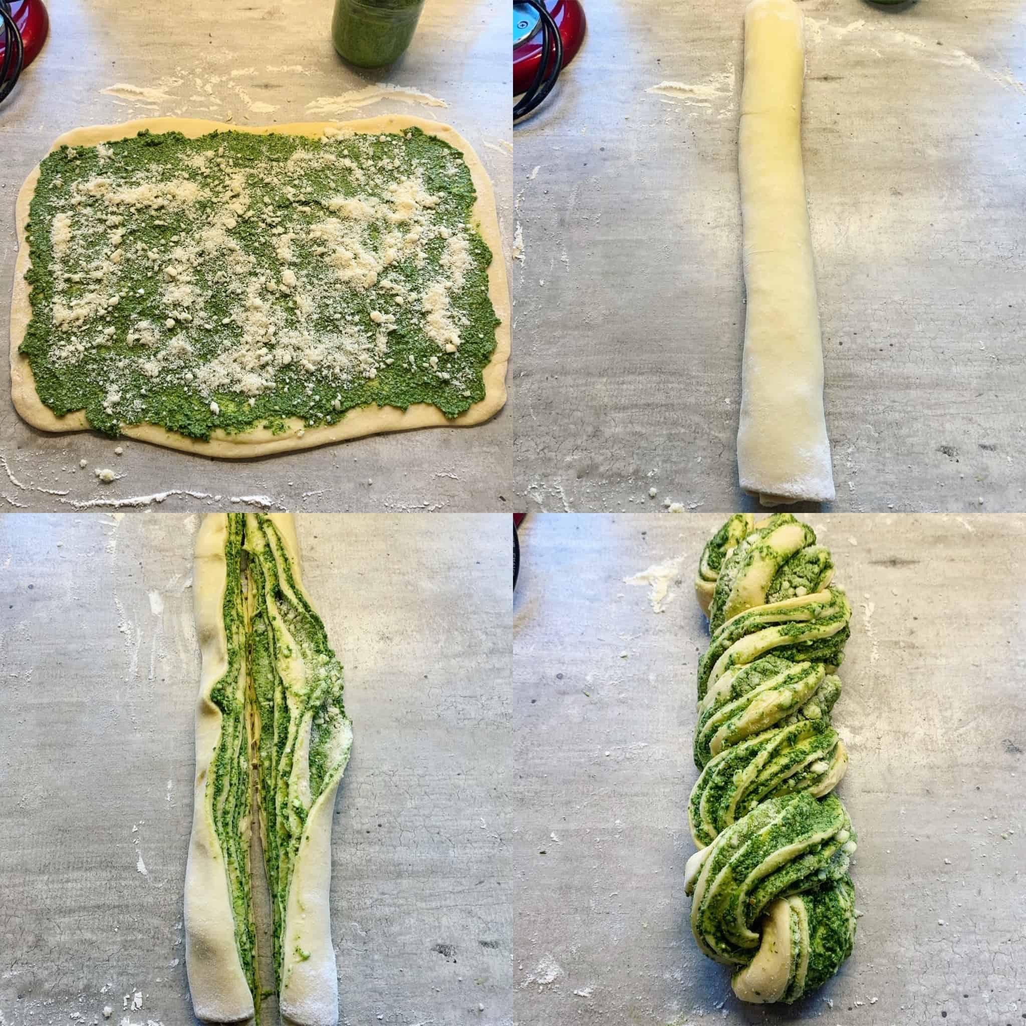 Pesto duona receptas - bulviukose.lt