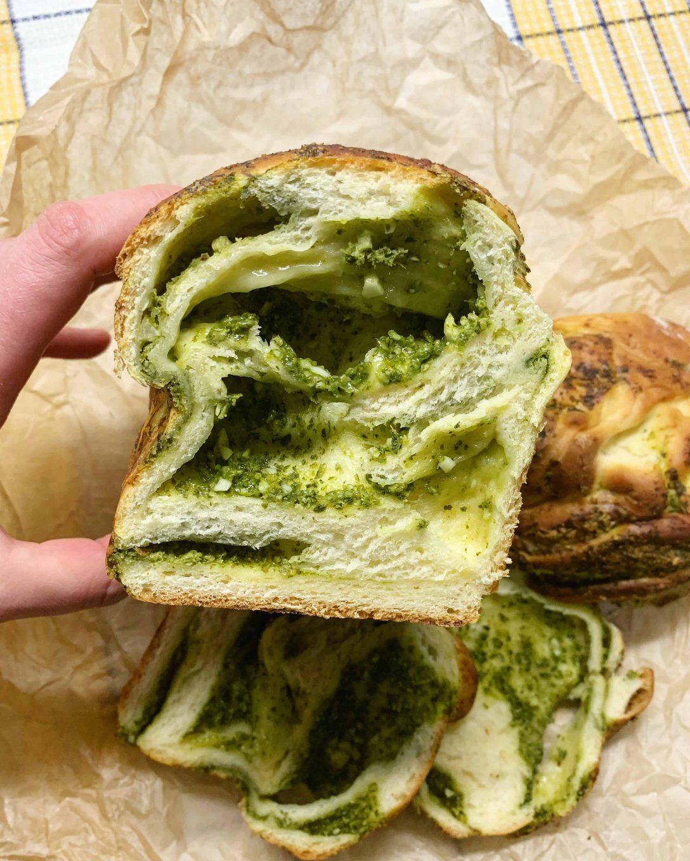 Pesto duonos receptas - bulviukose.lt