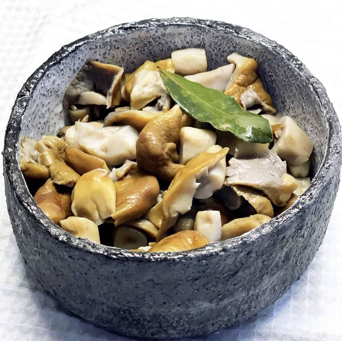 Rauginti grybai - receptas