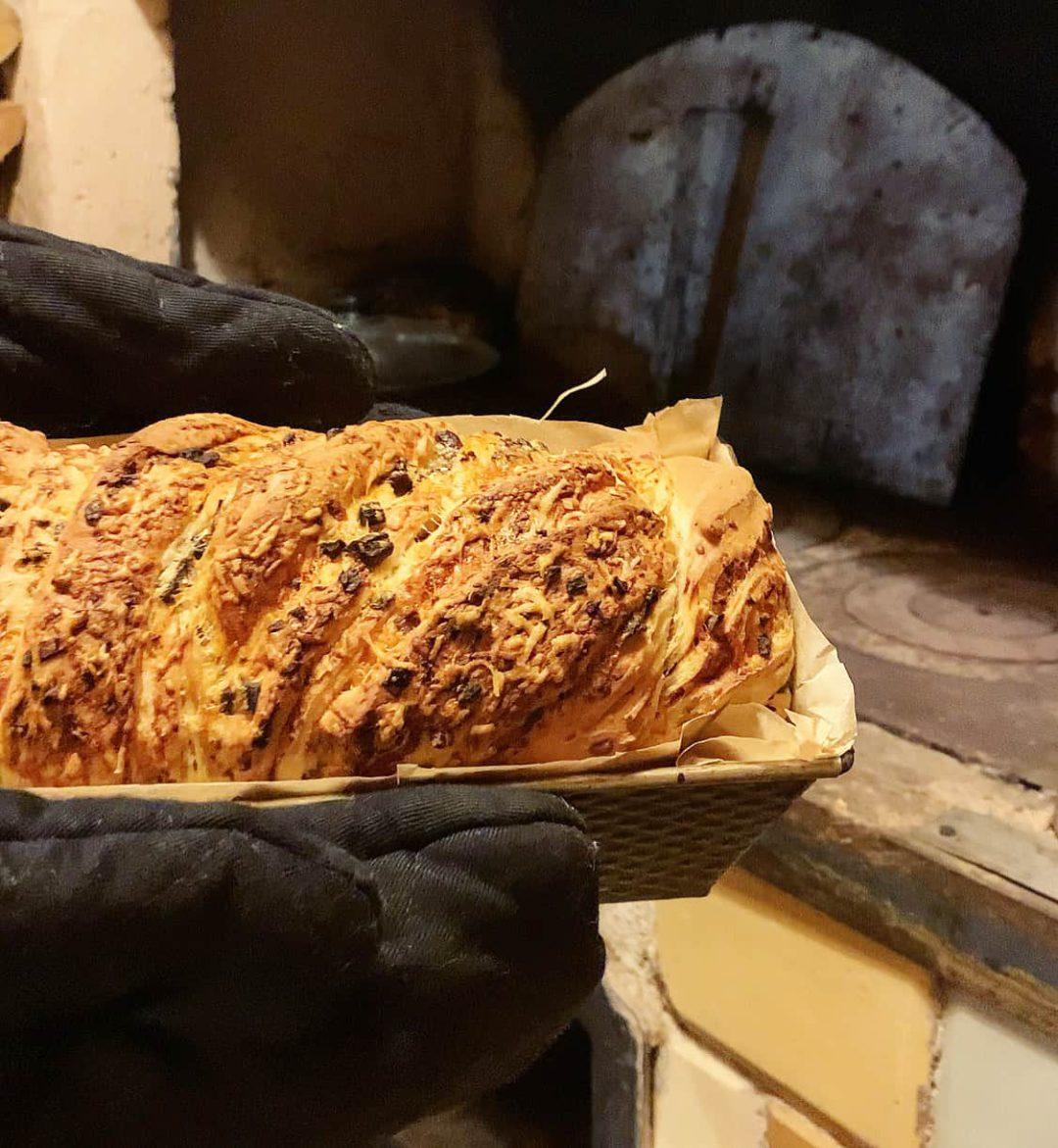 Duona su sūriu ir džiovintais grybais - bulviukose.lt