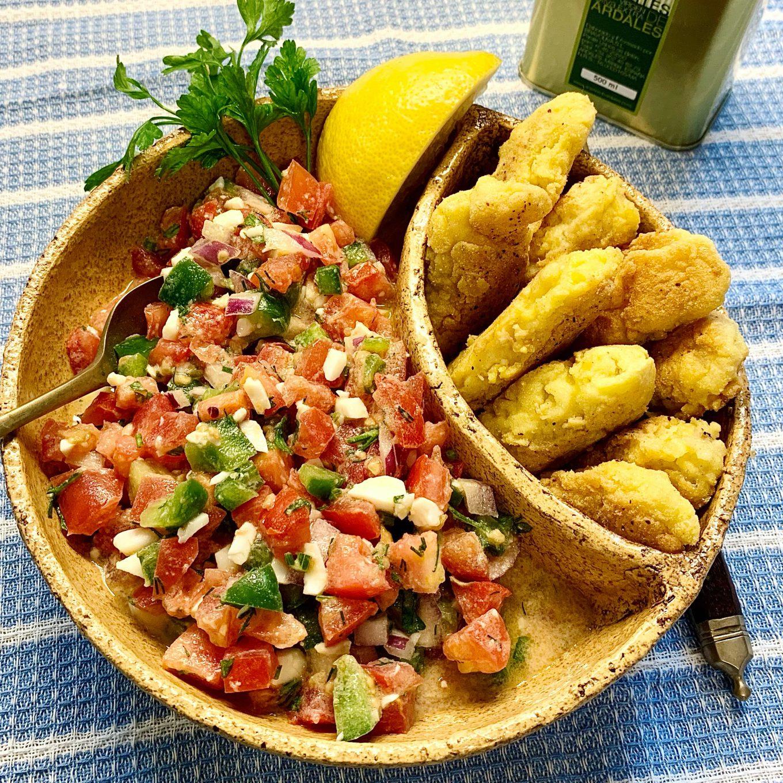 Ispaniškos Pipiranna salotos